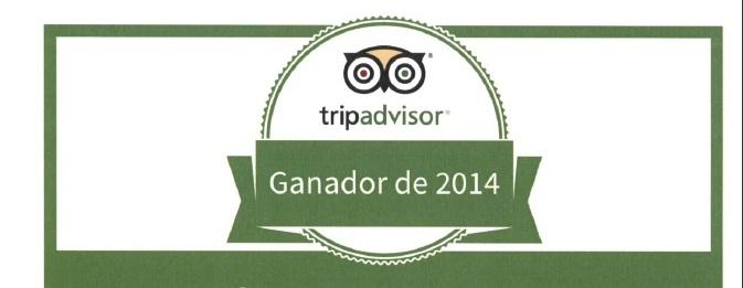140623 Tripadvisor Hotel Sauce certificado excelencia 2013