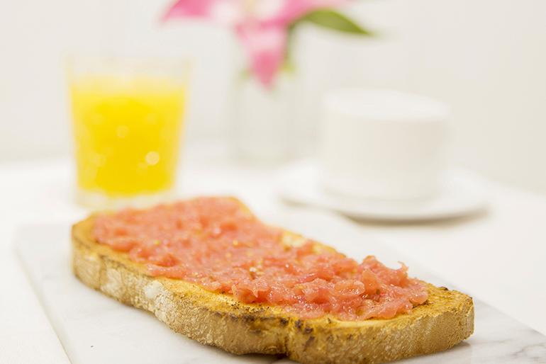 Desayuno Hotel Sauce