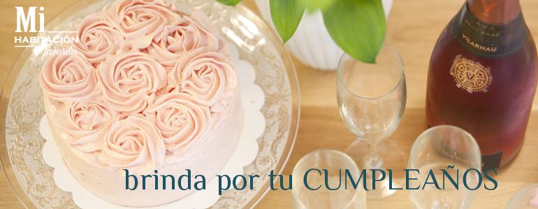 Brinda con cava y tarta por tu cumpleaños en Zaragoza