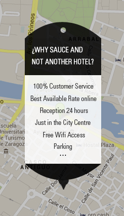 location Hotel Sauce Zaragoza